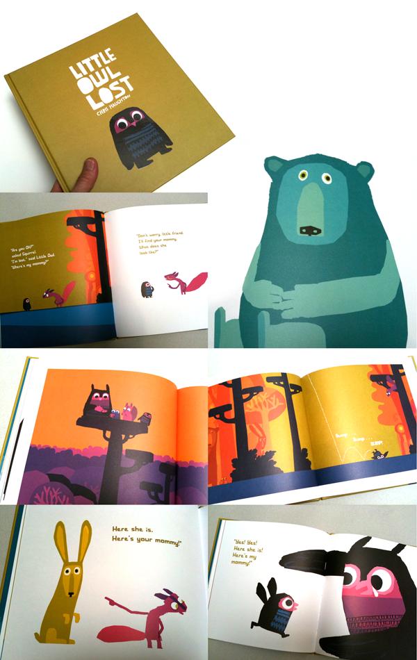 Character Design For Children S Books : Little owl lost